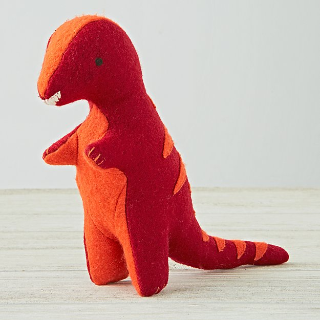 Red Stuffed Animal T Rex Reviews Crate And Barrel