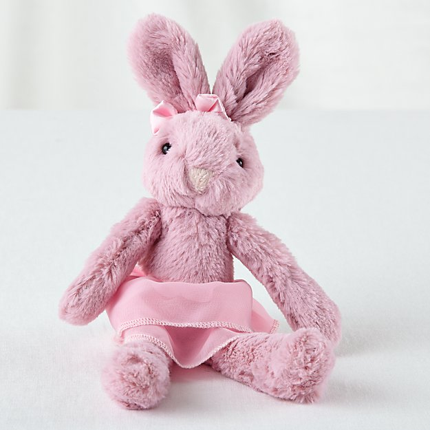 jellycat tutu pink bunny stuffed animal reviews crate and barrel