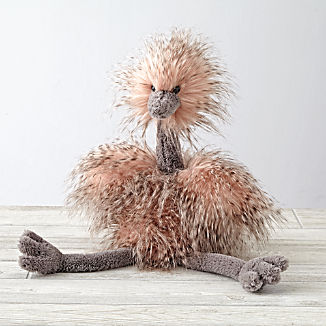 Jellycat ® Ostrich Stuffed Animal
