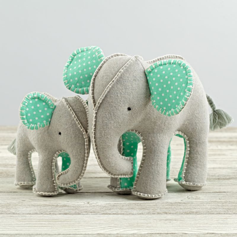 Small Elephant Decor: Elephant Stuffed Animals, Set Of 2 + Reviews