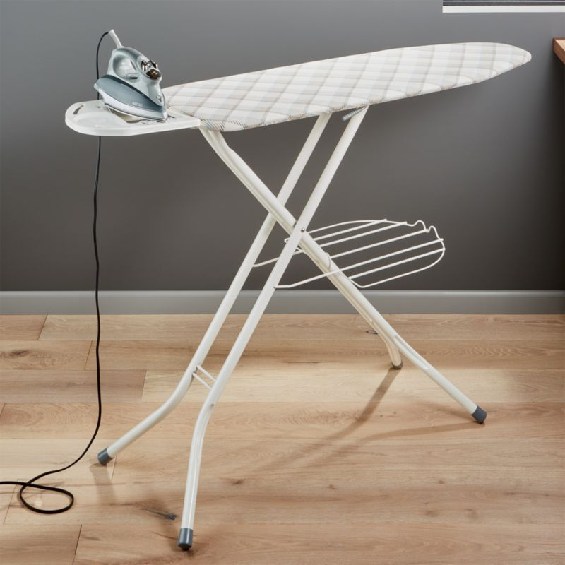 Polder 174 Deluxe Plaid Ironing Board Crate And Barrel