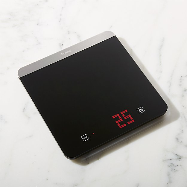 polder digital kitchen scale | crate and barrel