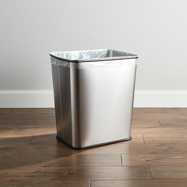 Stainless Steel Under Counter Waste Can