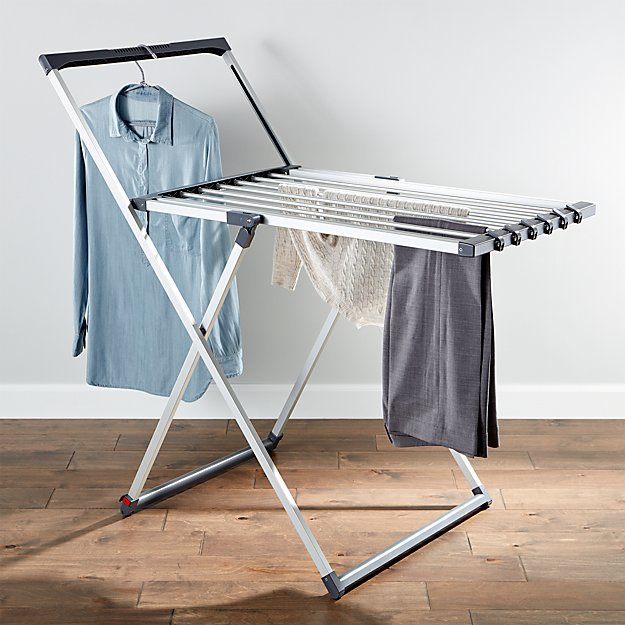 Polder Ultralight Laundry Drying Rack Crate And Barrel