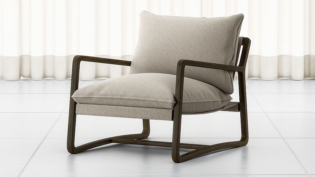 Polly Ivory Accent Chair - Image 1 of 7
