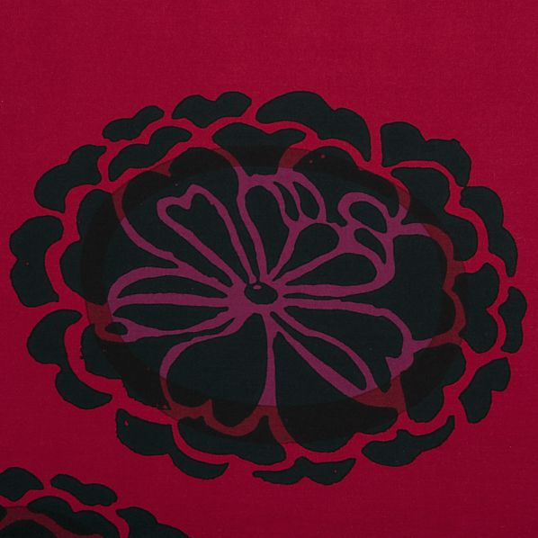 Marimekko Poloneesi Ruby King Pillow Sham