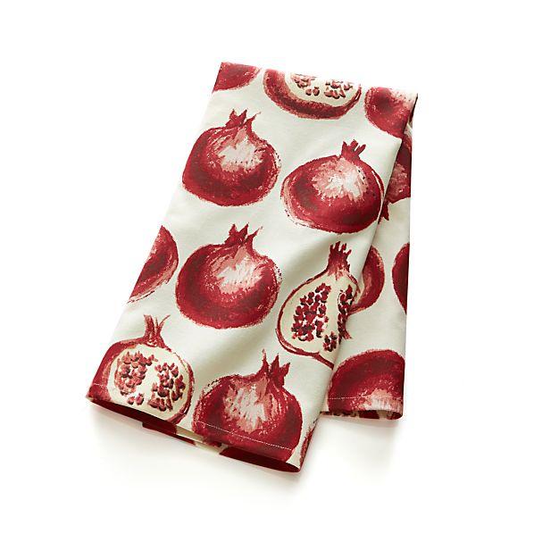 Pomegranate Dishtowel