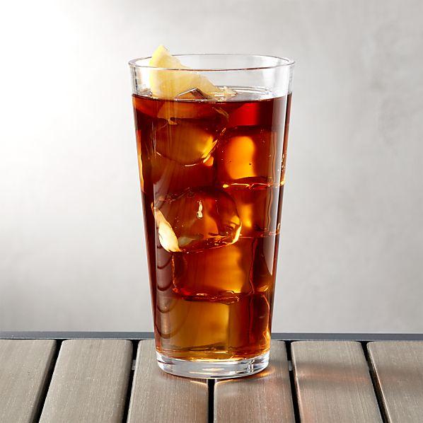 Pop Clear Acrylic 24 oz. Drink Glass