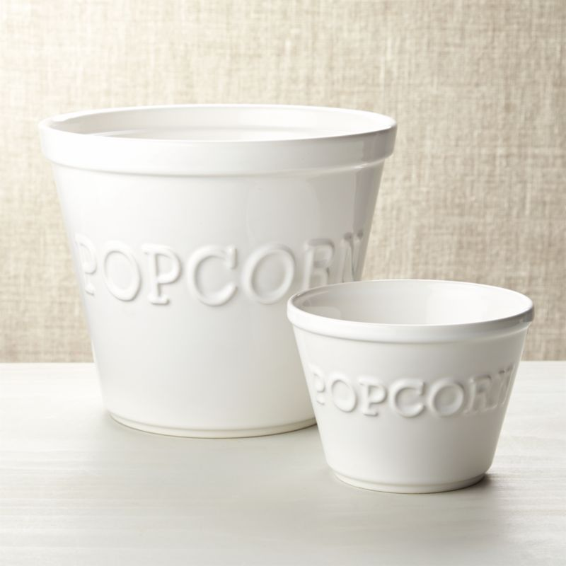 Popcorn Bowls Crate And Barrel