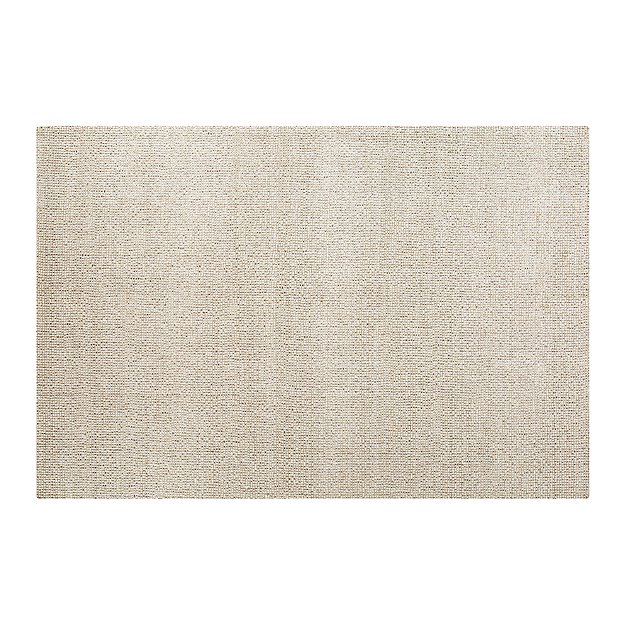 Popcorn Ivory Wool-Blend 9'x12' Rug