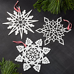 Star & Snowflake Ornaments
