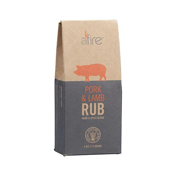 Afire ™ Pork & Lamb BBQ Rub