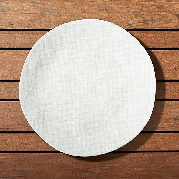 Porto Light Grey Dinner Plate