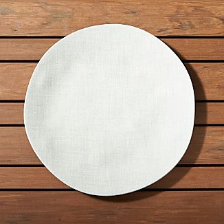 Porto Light Grey Dinner Plate