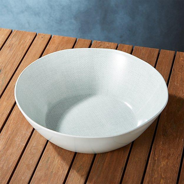 Porto Light Grey Serving Bowl