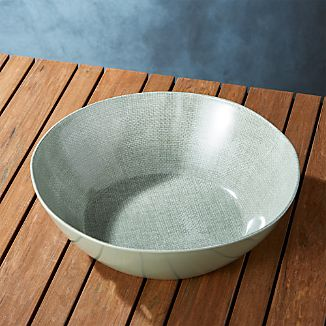 Porto Sage Green Serving Bowl