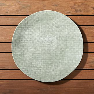 Porto Sage Green Dinner Plate