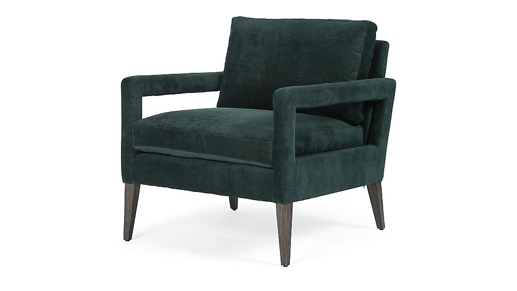 Posy Emerald Chair - Image 1 of 10