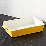 Potluck Yellow Lasagna Baking Dish