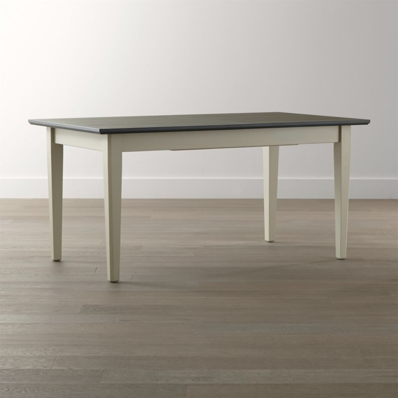 pranzo ii vamelie extension dining table  crate and barrel, Dining tables