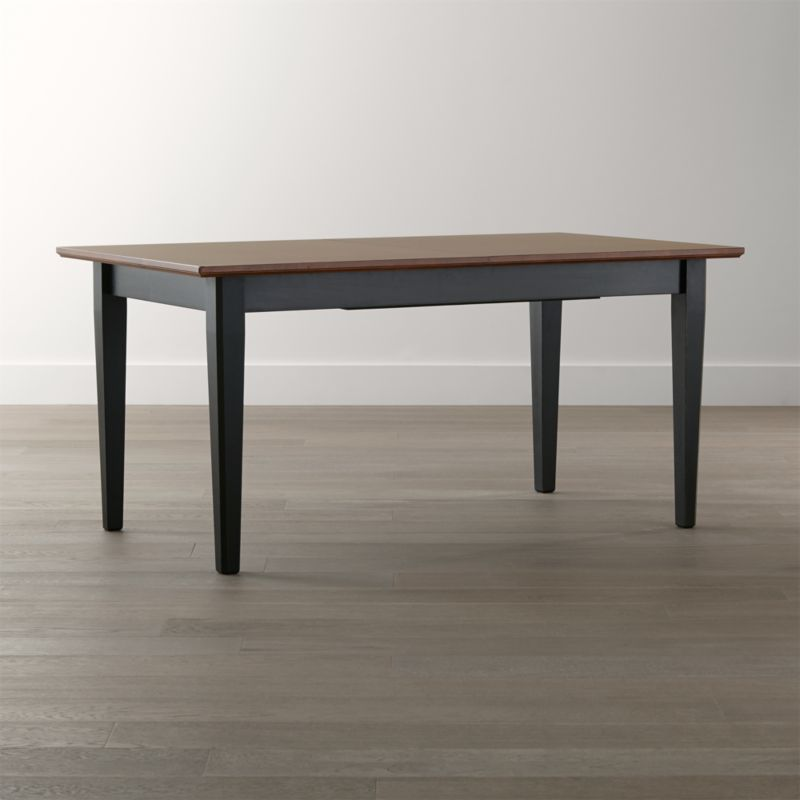 pranzo ii bruno extension dining table  crate and barrel, Dining tables