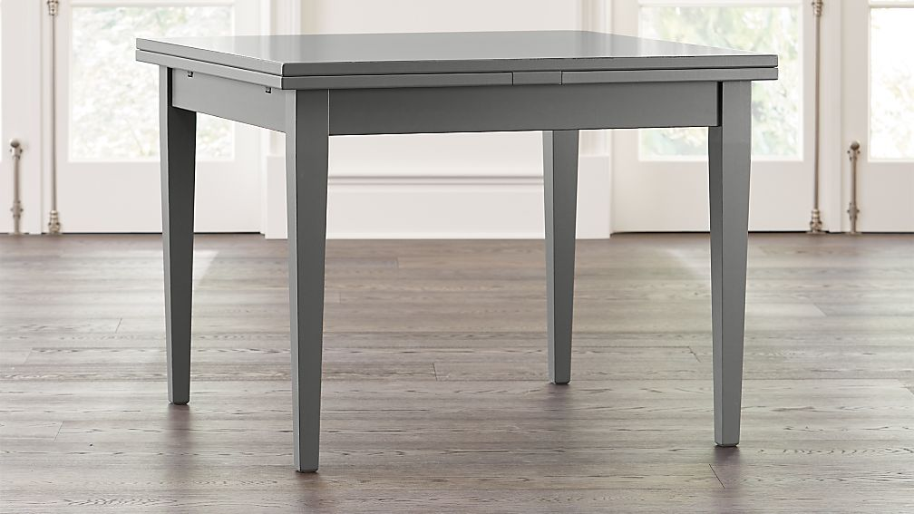 Pratico Grey Extension Square Dining Table - Image 1 of 9