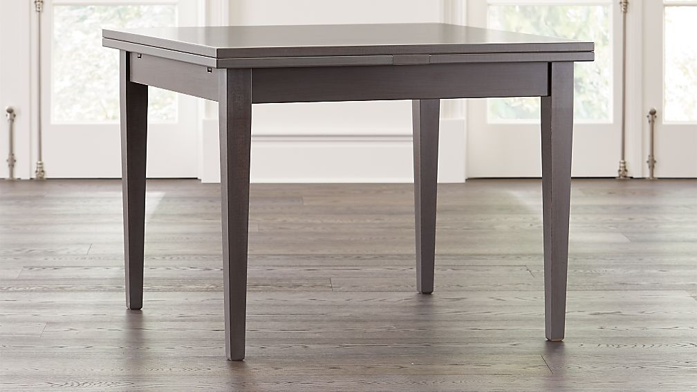 Pratico Grigio Extension Square Dining Table - Image 1 of 9