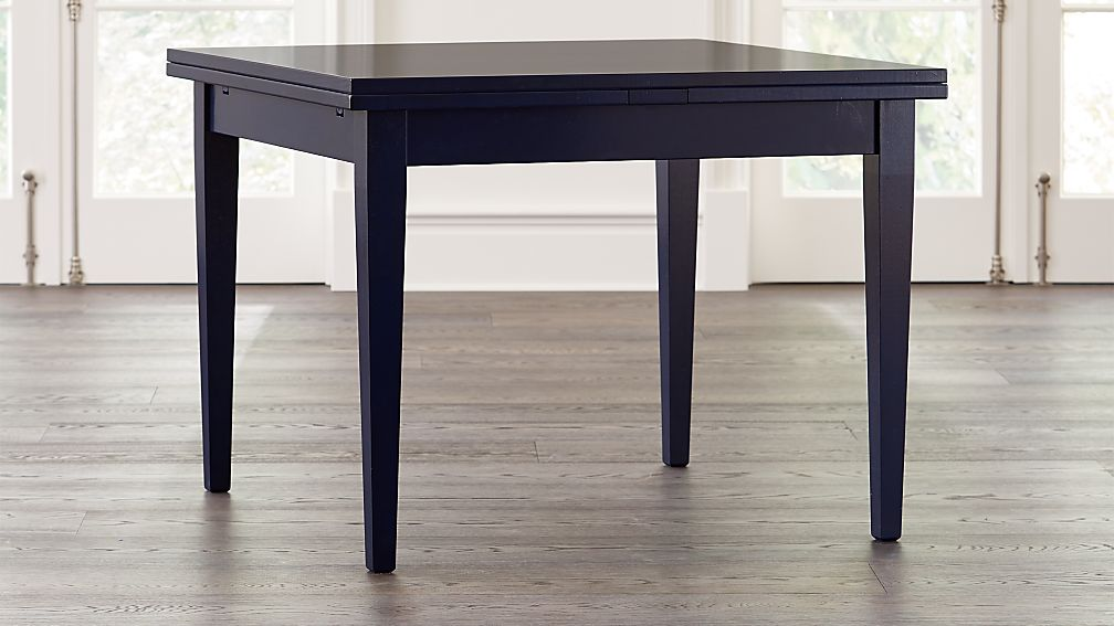 Pratico Indigo Extension Square Dining Table - Image 1 of 9