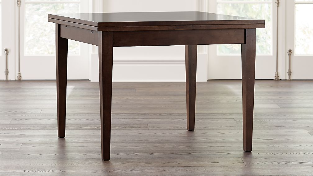 Pratico Aretina Walnut Extension Square Dining Table - Image 1 of 9