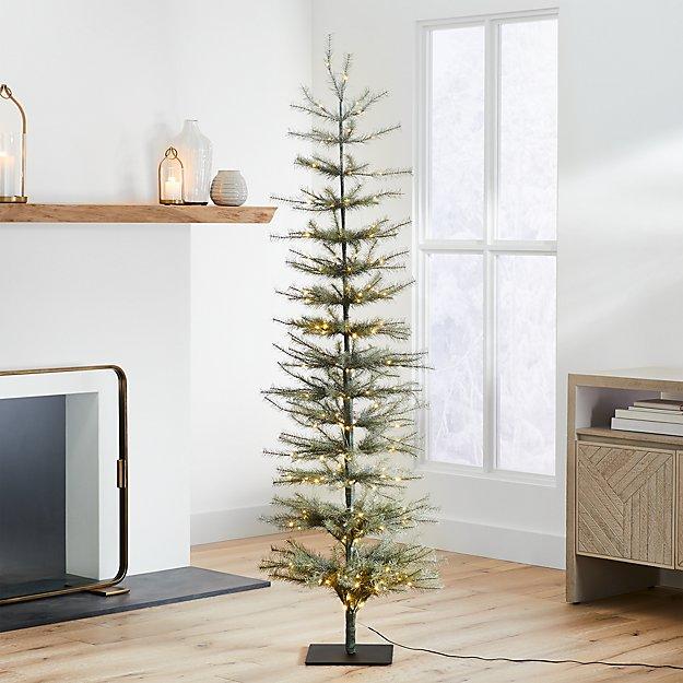 6' LED Pre-Lit Pine Tree - Image 1 of 3