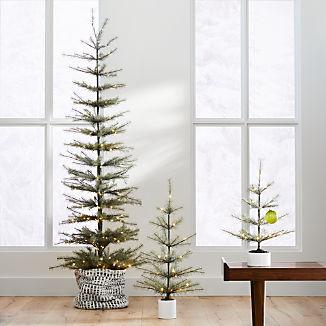 LED Pre-Lit Pine Trees
