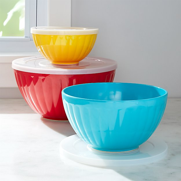 Prep Amp Store Bowls Set Of 3 Crate And Barrel
