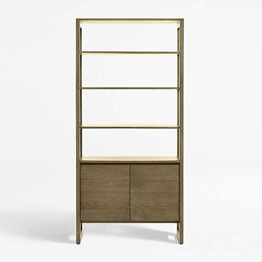 Prescott Wide Storage Bookcase
