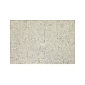 Presley Neutral Wool 6'x9' Rug