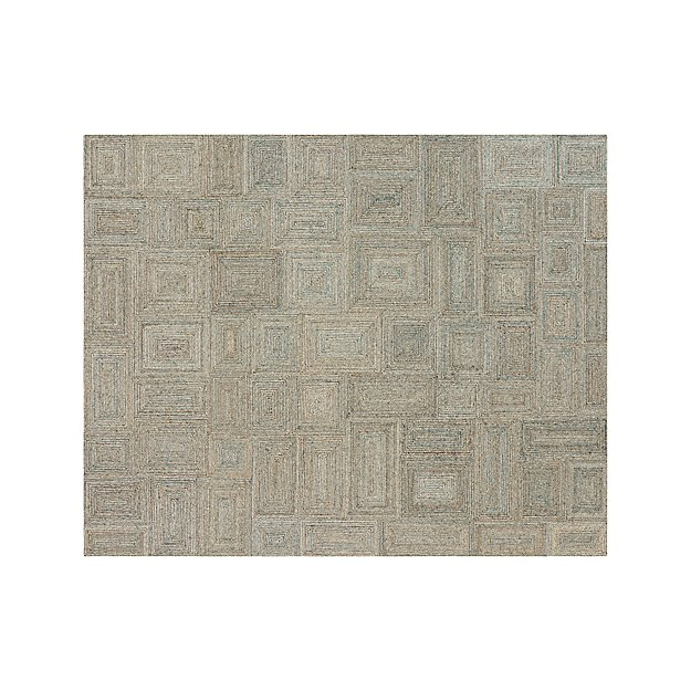 Presley 8x10 Ivory Geometric Rug Reviews Crate And Barrel