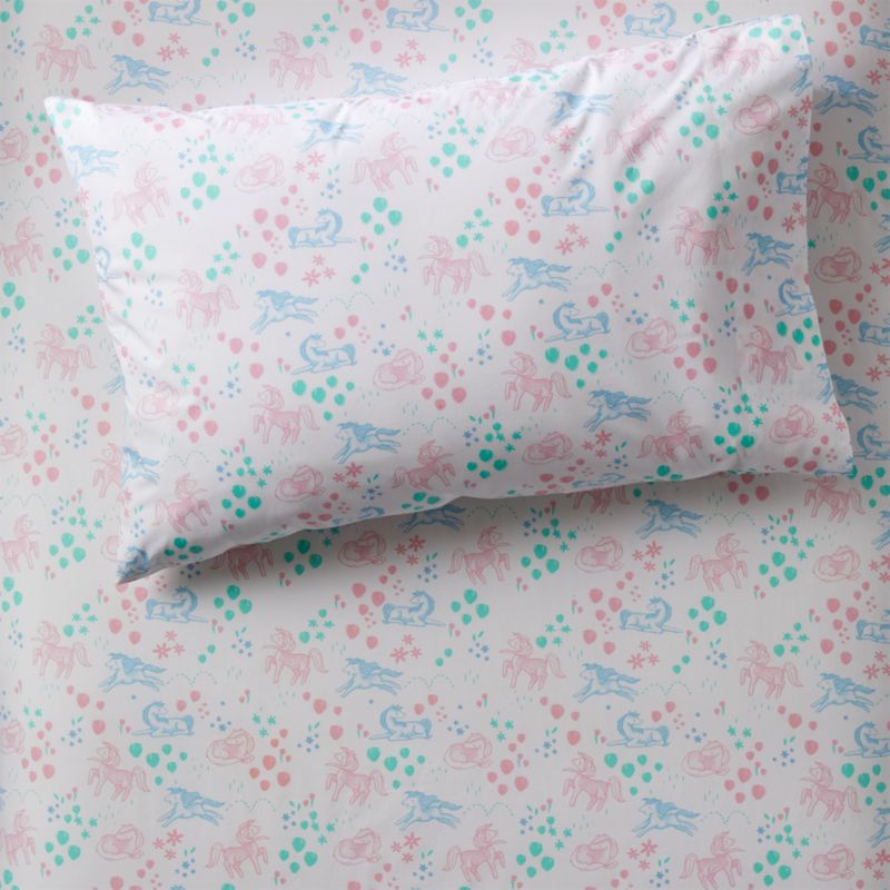 Organic Pretty Pony Pillowcase