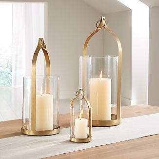 fcd409c6a4 Candle Holders: Votive, Pillar and Lantern | Crate and Barrel