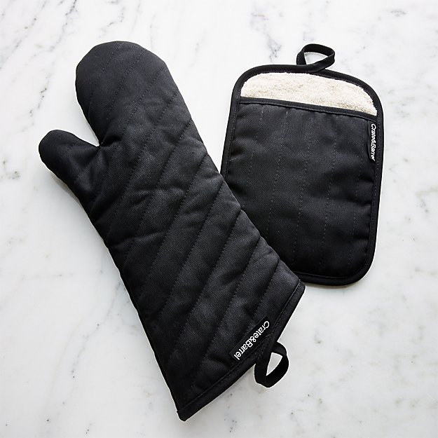 Professional Oven Mitt and Pot Holder - Image 1 of 2
