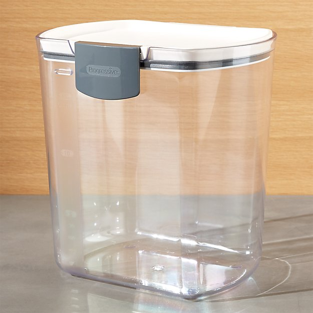 Progressive Prokeeper 4 Qt Flour Storage Container Reviews Crate And Barrel