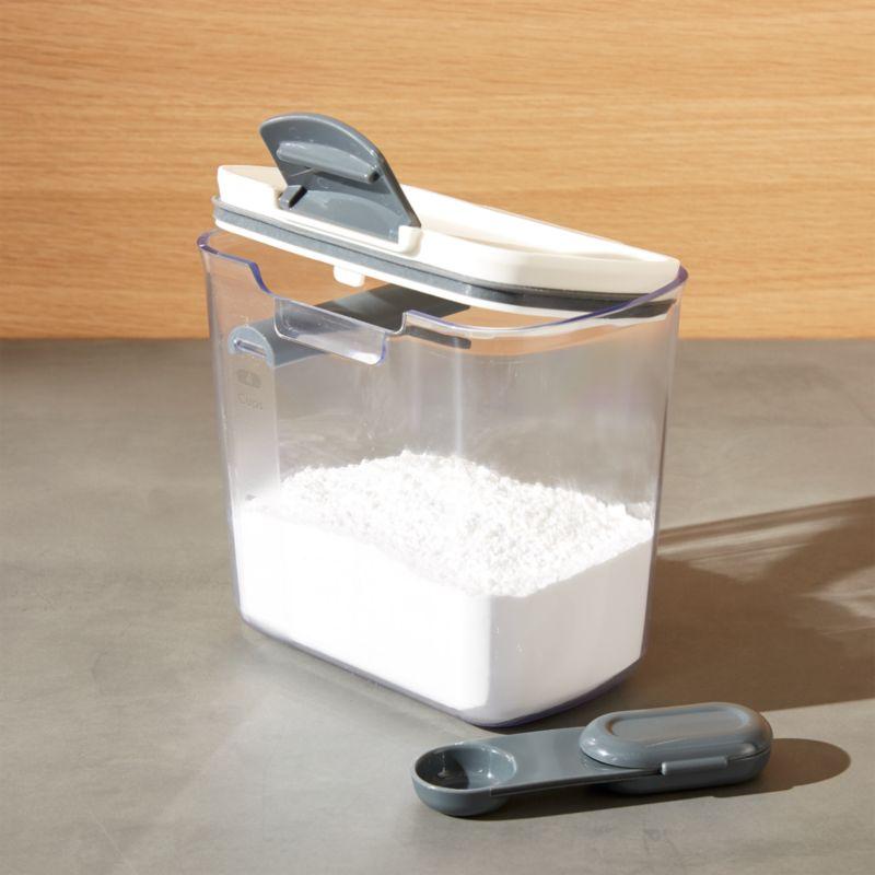 Rice Storage Container Singapore Part - 36: Progressive ® ProKeeper 1.4-Qt. Powdered Sugar Storage Container