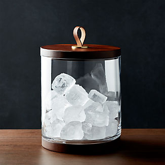 Prospect Glass Ice Bucket
