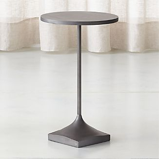 Lovely Prost Small Metal Drink Table