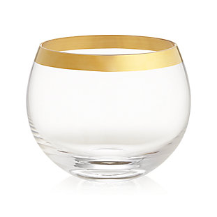 Pryce Gold Coupe Glass Reviews Crate And Barrel