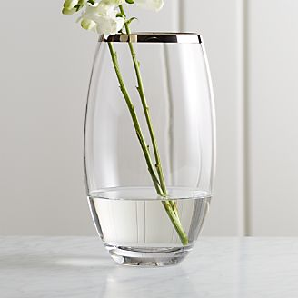 Bodenvase Glas decorative vases glass and ceramic crate and barrel