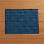Chilewich ® Purl Blue Vinyl Placemat