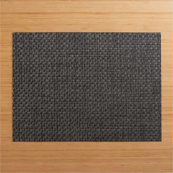 Chilewich ® Purl Graphite Placemat