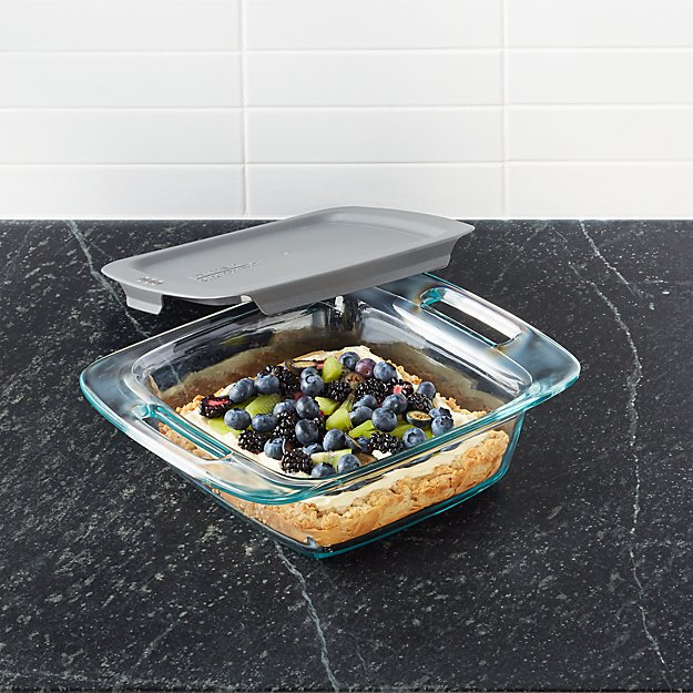 Pyrex ®  Square Baking Dish with Lid - Image 1 of 2