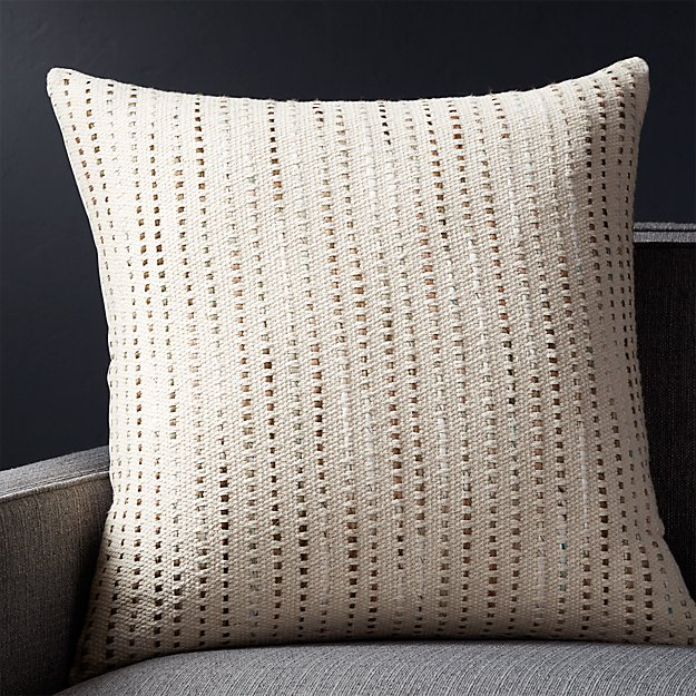 Organic Throw Pillow Inserts : Quent Natural 23