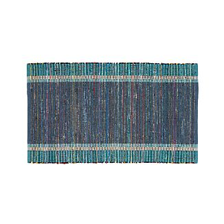 "Quentin Denim Blue 30""x50"" Rug"