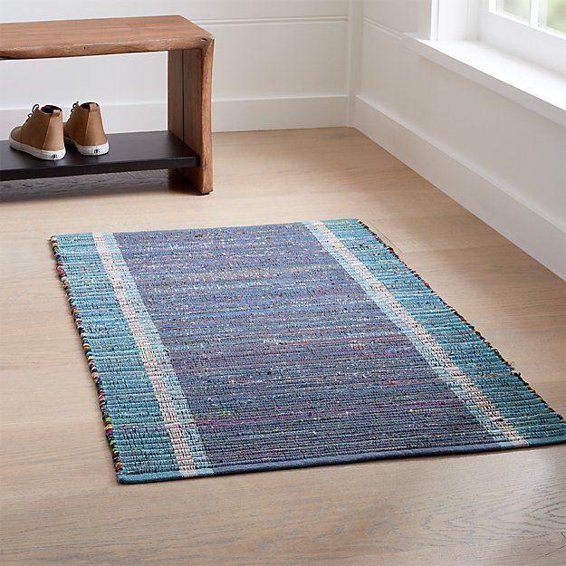 Quentin Denim Blue Rug